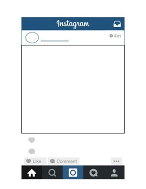 Instagram Template By Mrs Cervantes In Second Teachers Pay Teachers Free Instagram Template