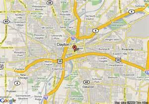 map of crowne plaza hotel dayton dayton