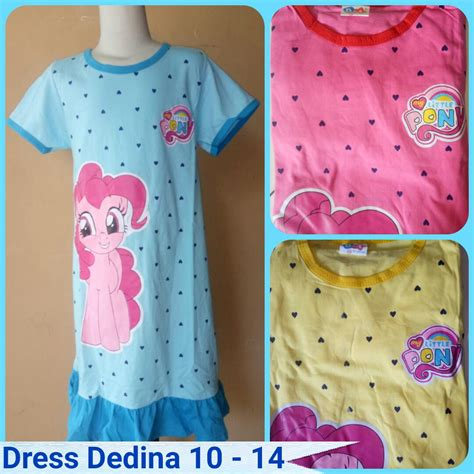 Pusat Grosir Baju Monochrome Dress Katun Grosir Dress Dedina Size 10 14 Anak Murah Bandung 20ribu