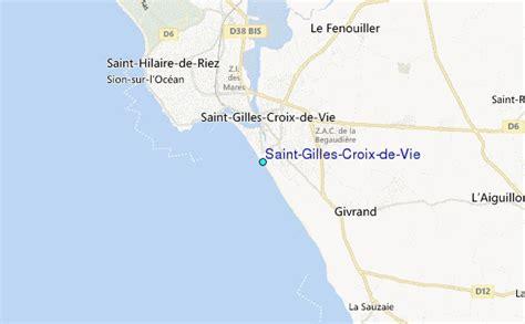 Saint Gilles Croix de Vie Tide Station Location Guide