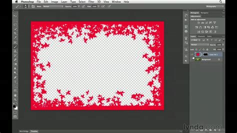 tutorial photoshop frame christmas border photoshop merry christmas and happy new