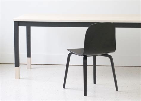 minimalist table a minimalist table inspired by classroom desks from kroft