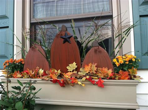 decorating window boxes for fall fall window box decorating