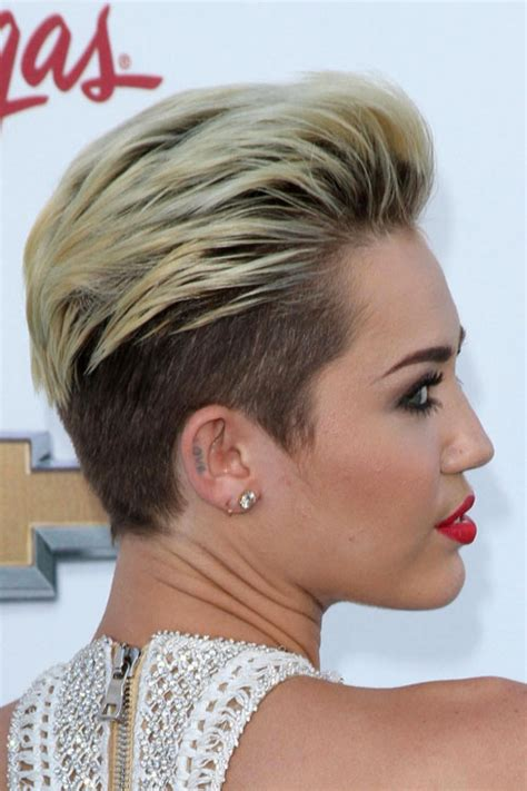 Miley Cyrus on Pinterest   Miley Cyrus Hair, Short Hair