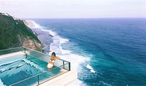 infinity pool bali oneeighty at the edge is bali s brand new glass bottom