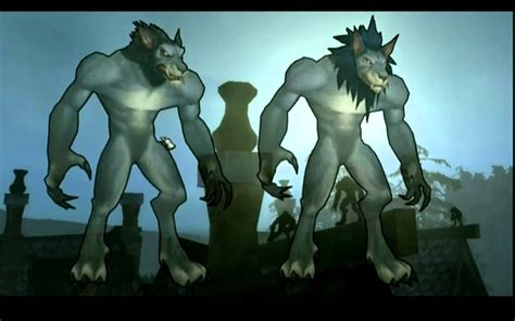 worgen models what they needed to change in worgen goblin models