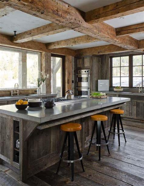 rustic modern design la tendance poutres apparentes 41 bons exemples