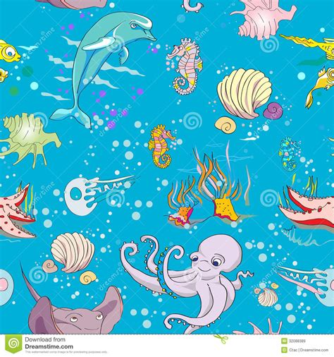 underwater pattern background underwater pattern royalty free stock images image 32088389