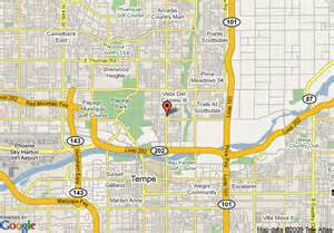 map of hospitality suites scottsdale scottsdale
