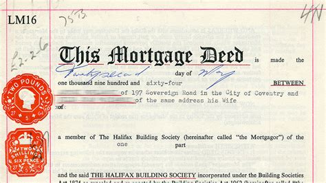 what does mortgaging a house mean legal sts mortgage deed part of a legal document