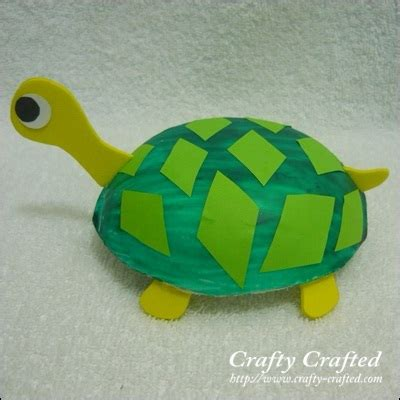 turtle craft for crafty crafted crafts for children 187 turtle