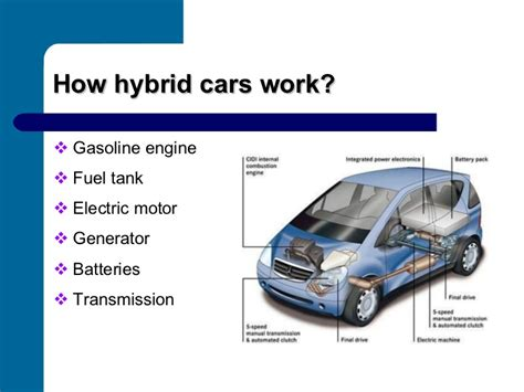 how hybrid cars work hybrid cars presentation