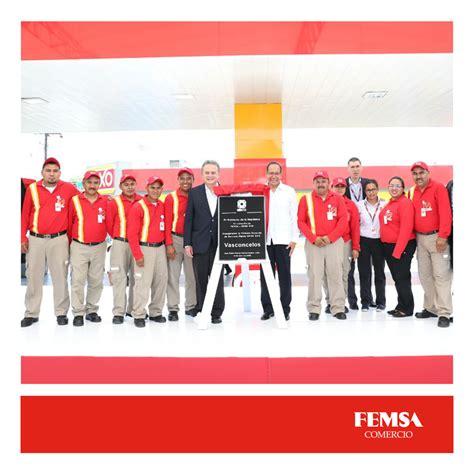 tiendas oxxo gas femsa realiz 243 el lanzamiento de la primera gasolinera oxxo