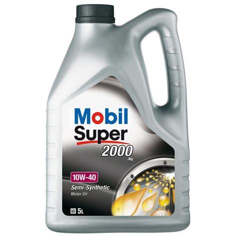 mobil 1 10w40 huile moteur mobil 2000 x1 10w40 essence et diesel 5