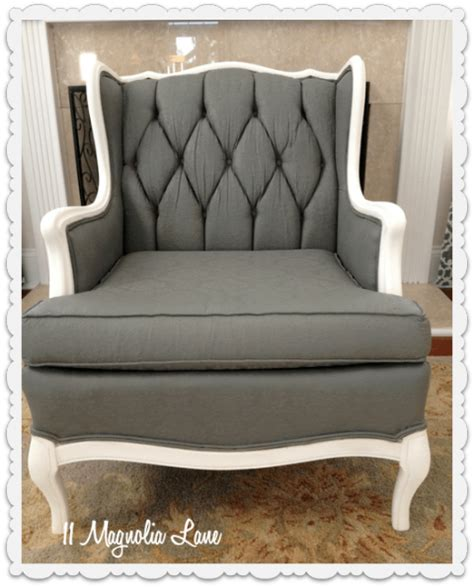 Upholstery Tutorial Chair by Tutorial How To Paint Upholstery Fabric And Completely