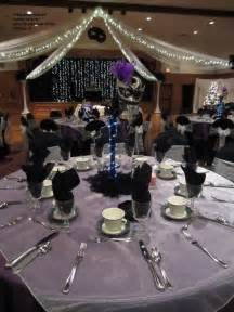 black and silver decorations favors ideas