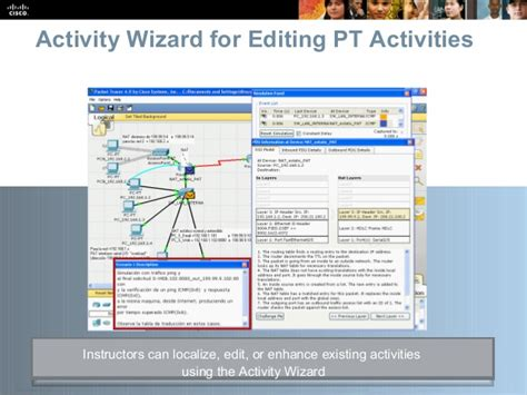 cisco packet tracer activity wizard tutorial cisco packettracer overview 20jul09