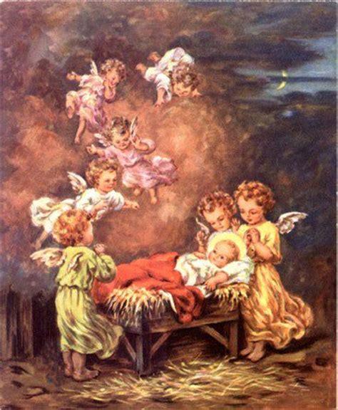 imagenes navidad jesus vintage angels angels vintages cards christmas