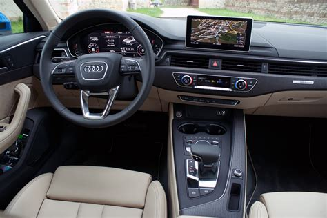 audi dashboard 2017 2017 audi a4 review autoguide com