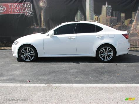 2008 Starfire White Pearl Lexus Is 250 11040184