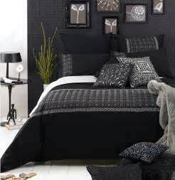 Black And Gray Bedroom Ideas Bedroom On Pinterest Master Bedrooms Duvet Covers And