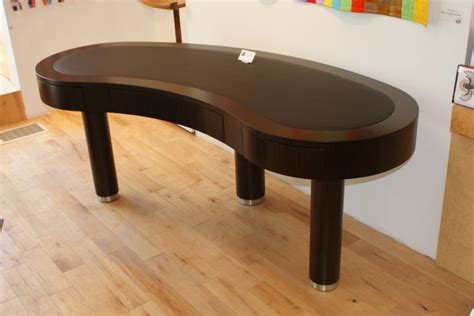 furniture art kidney shaped desks ideas for modern luxury home interior decor ideas decor black wooden kidney shaped desk with 7 drawers for
