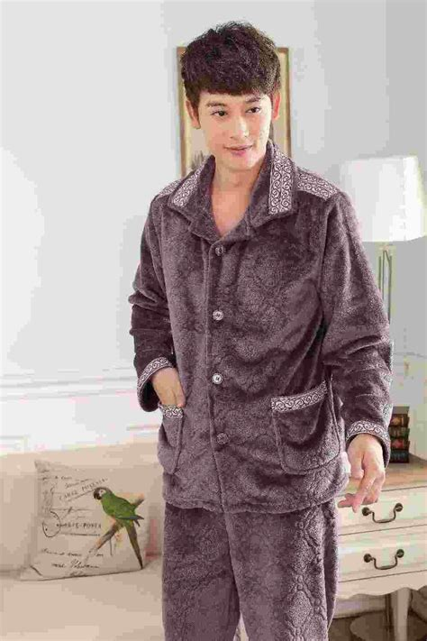 Get Look In Primp Pyjamas 2 by 2018 Autumn And Winter Flannel Pajamas Thick Warm