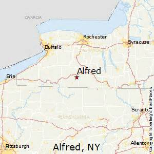 Alfred New York Map best places to live in alfred new york