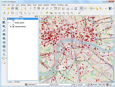 qgis tutorial making a map searching and downloading openstreetmap data qgis