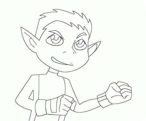coloring pages beast boy 7 beast boy coloring page coloring home