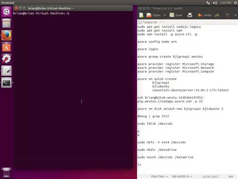 linux javascript tutorial building a linux virtual machine tutorial