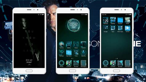 xiaomi official themes jason bourne exclusive miui official theme download