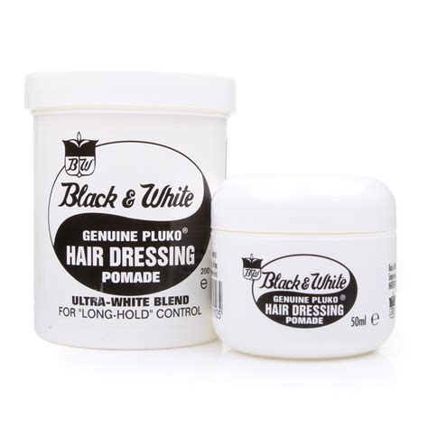 Black Pomade black white hair dressing pomade pomade