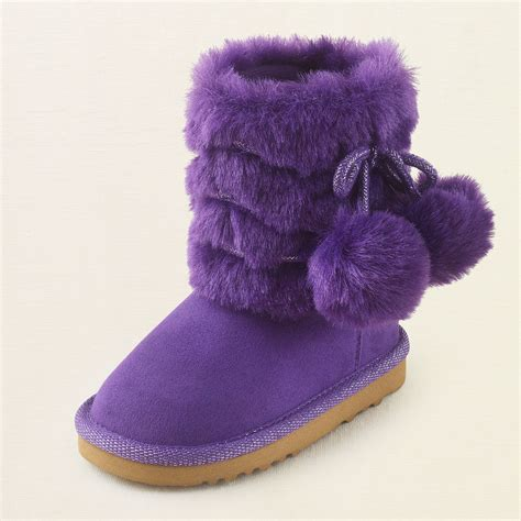baby girl shoes pom pom chalet boot childrens