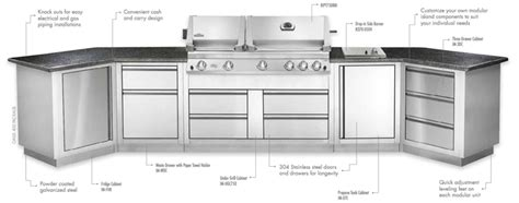 napoleon oasis modular kitchens napoleon bbqs the bbq