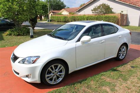 lexus is 250 2007 for sale file lexus is250 with x fl 2007 lexus is250 starfire pearl black 6mt clublexus