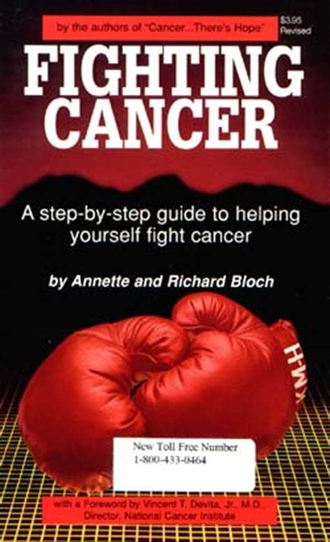 a cancer books fighting cancer r a bloch cancer foundation