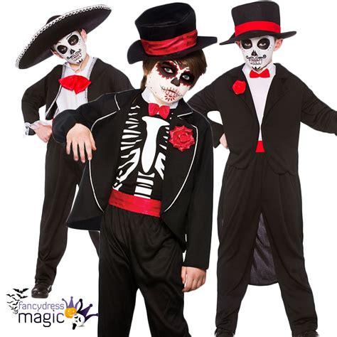 imagenes de halloween disfraz ni 241 os disfraz de halloween d 237 a los muertos esqueleto