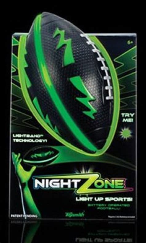 Light Up Football by Nightzone Light Up Football Grand Rabbits Toys In