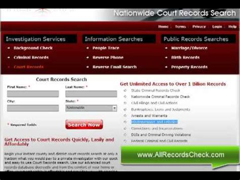 How To Check Court Records How To Do Instant Court Records Check Nationwide