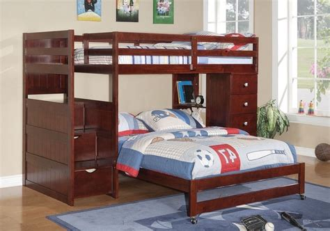 twin over full loft bunk bed spillo caves