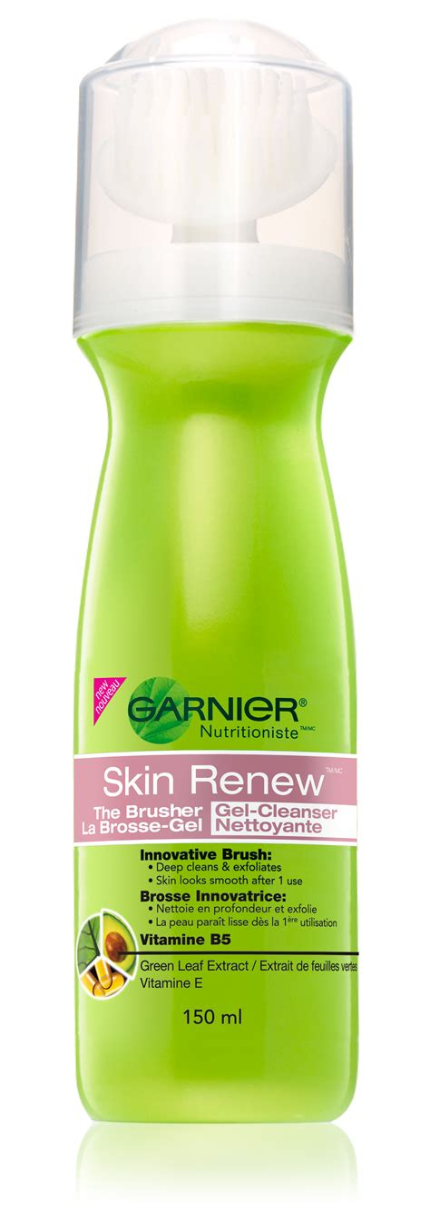 Garnier Clean Detox Gentle Brightening Scrub Review by Garnier Skin Renew Brusher Gel Cleanser Reviews In