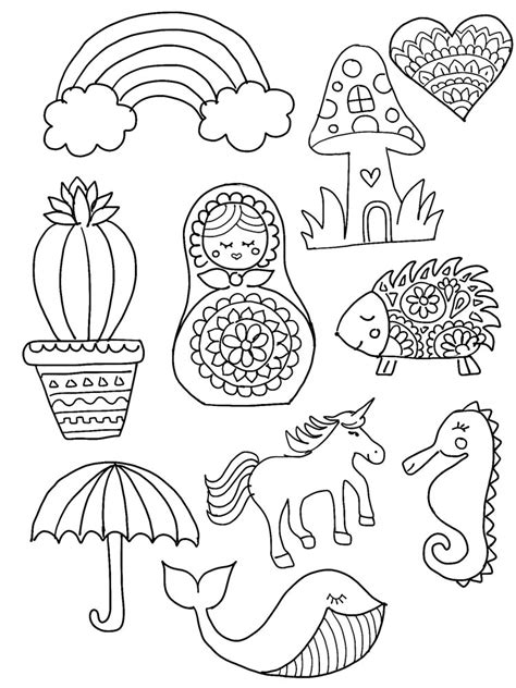 Shrinky Dink Printable Templates diy shrinky dink charms ooly
