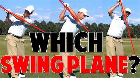 the one plane golf swing one plane vs two plane golf swing which is better