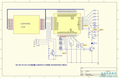 ao kema air conditioner remote circuit diagram