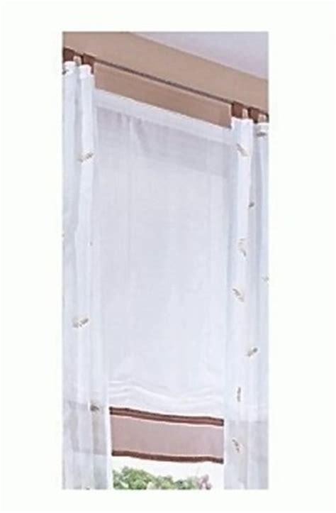 Vorhang Fenster by Raffrollo Fenster Falt Rollo Plissee Fertideko Gardine