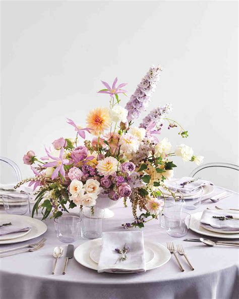 how to make table centerpieces 23 diy wedding centerpieces we martha stewart weddings