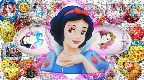 surprise eggs opening disney princess toys  girls youtube