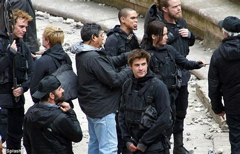 evan ross character in star more pics from the mockingjay part 2 set in france