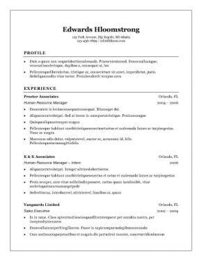 What Is The Best Resume Template To Use by Top 10 Best Resume Templates Free For Microsoft Word